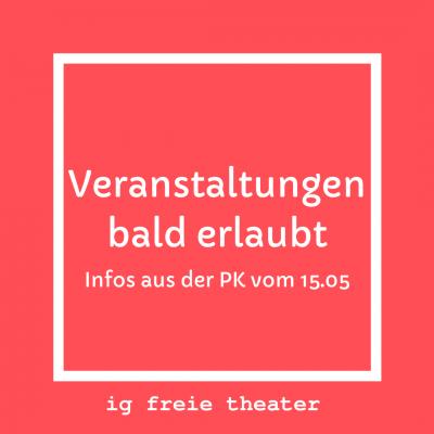 Veranstaltungen bald erlaubt Infos aus der Pressekonferenz Kogler Anschober vom 15.05.20